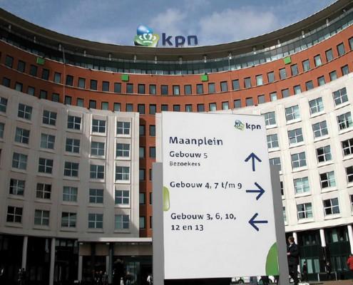 Sede KPN colosso olandese delle Telecomunicazioni L'Aia (Olanda)