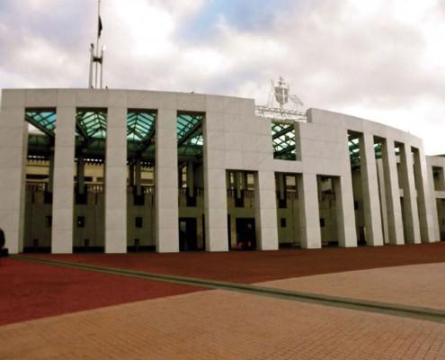 Sede del Parlamento Australiano a Canberra (Australia)