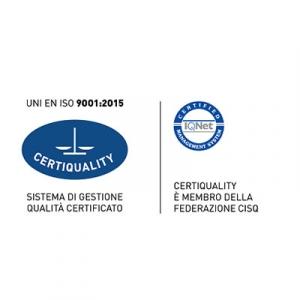 azienda certificata UNI EN ISO 9001